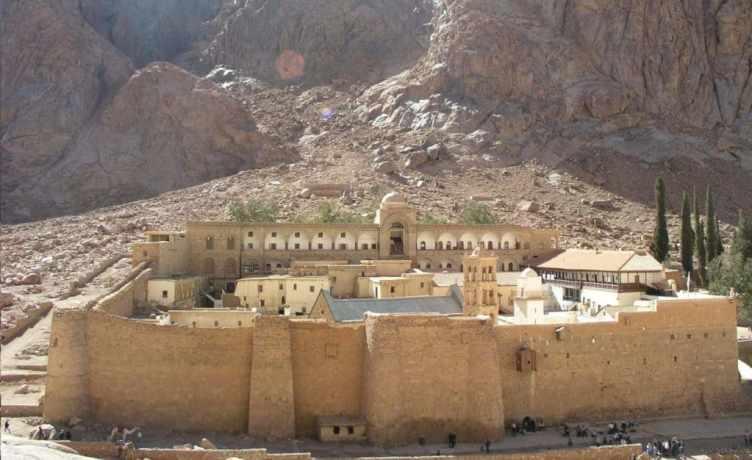 Katharinenkloser auif der Halbinsel Sinai in Ägypten