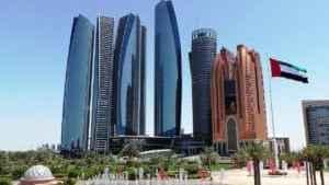 VAE: Blick auf Abu Dhabi