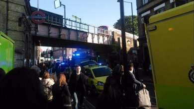 Photo of انفجار داخل قطار بمترو لندن ووقوع إصابات