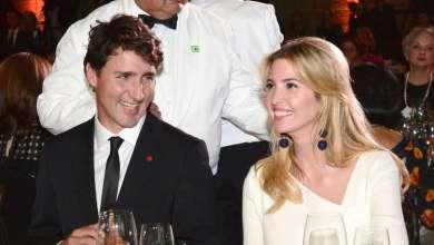 Photo of بالصور.. إيفانكا ترامب في حفل عشاء مع رئيس وزراء كندا
