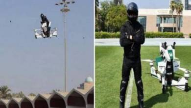 """Photo of قريبا.. """"دراجات طائرة"""" في دبي!"""