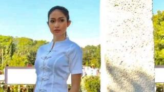 Photo of تجريد ملكة جمال ميانمار من لقبها بعد نشرها فيديو عن الروهينجا