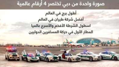 Photo of صورة واحدة من دبي تختصر 4 أرقام عالمية
