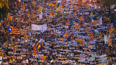 Photo of برشلونة.. تظاهرات حاشدة تطالب بإطلاق سراح قادة الانفصال