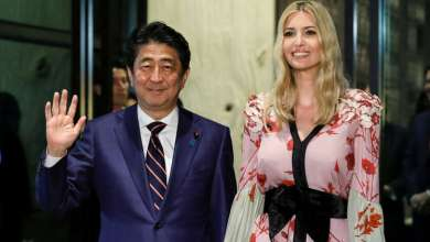 Photo of اليابانيات يتجاهلن إيفانكا ترامب! (صور)