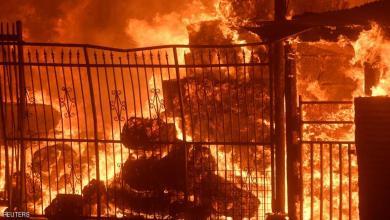Photo of حريق كاليفورنيا.. لقطات مخيفة ومنازل تحولت إلى رماد