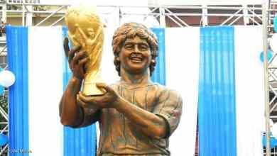 """Photo of مارادونا """"الهندي"""".. تمثال يشبه كثيرين إلا مارادونا"""