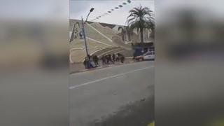 Photo of شاهد.. دهس جماعي خلال سباق للسيارات بالجزائر