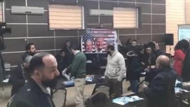 Photo of شاهد.. نشطاء فلسطينيون يطردون وفدا أميركيا من بيت لحم