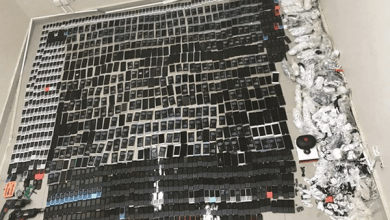 Photo of ضبط طائرات فانتوم ومخدرات ومئات الهواتف بمخبأ سري في سجن الكويت المركزي