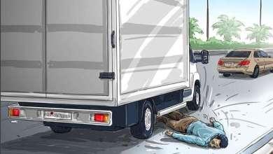 Photo of آسيوي يحاول الانتحار تحت عجلات شاحنة في أبوظبي