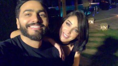 Photo of هل ينتظر تامر حسني وزوجته..طفلهما الثالث ؟