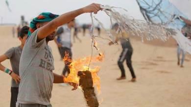 Photo of طائرات غزة الورقية تحرق ما يقدر بنصف مساحة تل أبيب