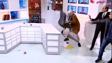 Photo of مصر.. ضرب بالكرسي وتشابك بالأيدي بين اثنين من الدعاة على الهواء ـ(فيديو)