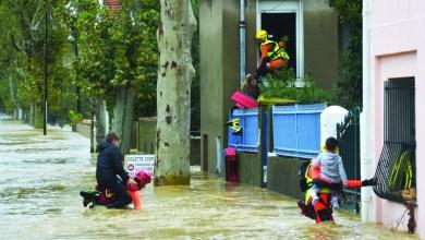 Photo of مقتل ١١ بفيضانات غير مسبوقة جنوبي فرنسا