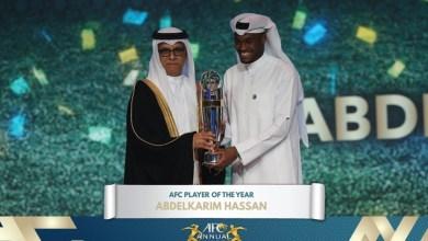 Photo of لاعب قطري يفوز بجائزة أفضل لاعب في آسيا