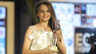 Photo of نورا أصغر موديل مصرية تعرض الأزياء