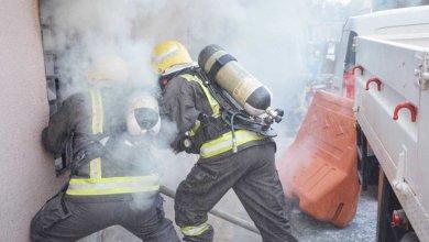 Photo of مدني مكة يسيطر على حريق بشارع فلسطين دون إصابات