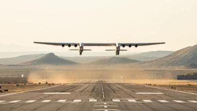 Photo of أكبر طائرة في العالم تتم أول رحلة لها فوق كاليفورنيا