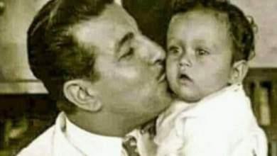 Photo of خمنوا من هي هذه الطفلة برفقة انور وجدي ممثلة مصرية شهيرة