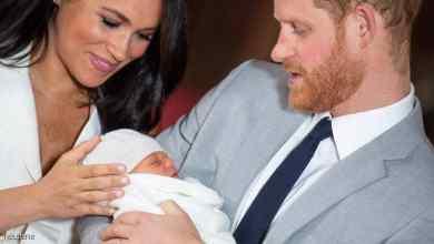 Photo of إعلان اسم المولود الملكي للأمير هاري وميغان ماركل