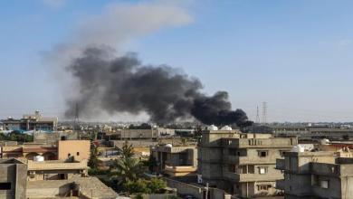 Photo of حفتر يقصف مطار طرابلس…وتركيا تتهمه باعتقال 6 من مواطنيها