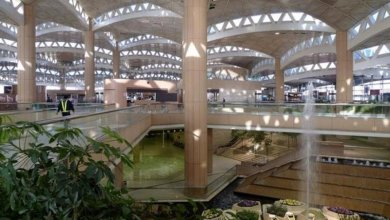 Photo of مطار الملك خالد يتخطى أكثر من مليوني مسافر بنهاية رمضان والعيد