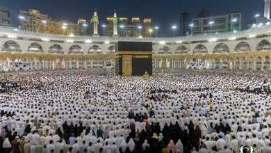 Photo of أكثر من مليوني مصلٍ في المسجد الحرام ليلة 27 رمضان