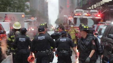 Photo of تحطم مروحية بعد اصطدامها ببرج في نيويورك