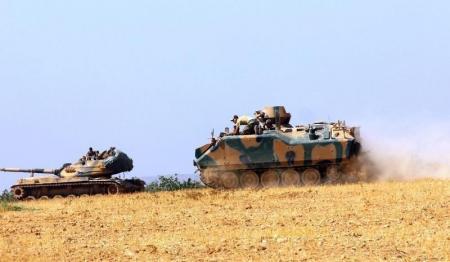 "دبابات تركية تدخل جرابلس ومقاتلو ""داعش"" ينسحبون منها"