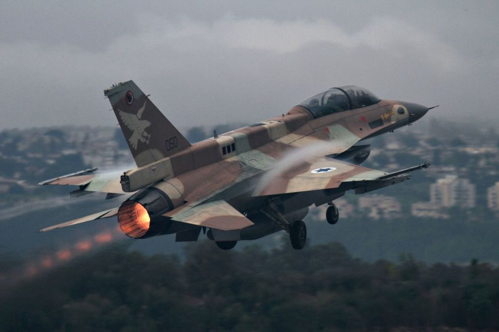 Israel-Air-Force-F16