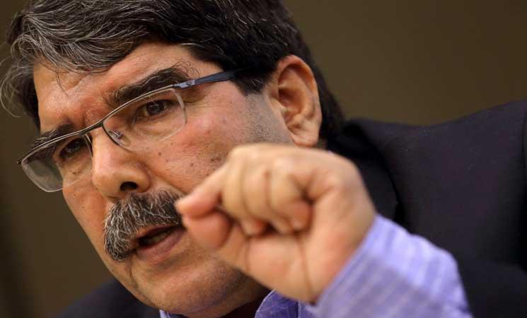 """صالح مسلم: لا فرق بين """"داعش"""" وتركيا وعلى الولايات المتحدة اتخاذ مواقف واضحة"""