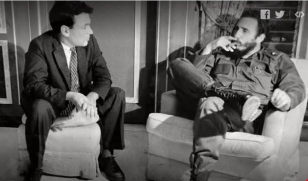 مراسل نيويورك تايمز ريتشارد أدير وكاسترو