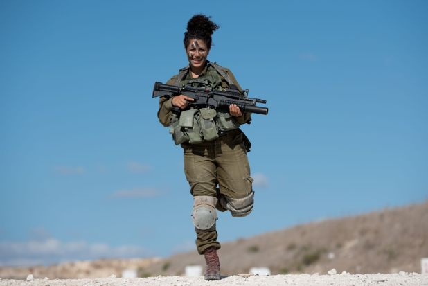 israeli-soldier-female
