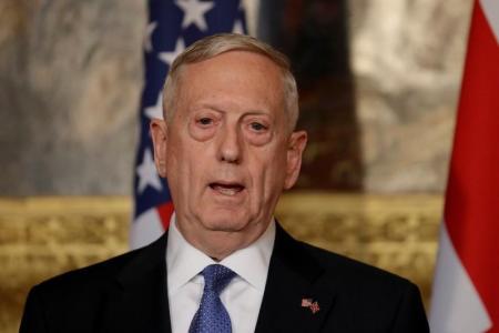 ماتيس: واشنطن لا توسّع دورها في الحرب السورية