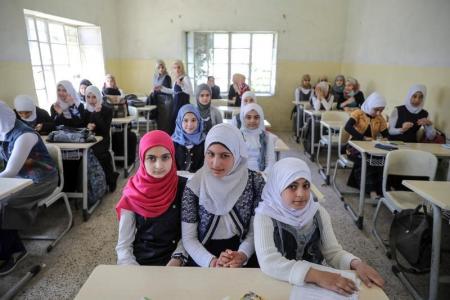 """تلميذات عراقيات يعدن إلى مدارسهن بعد سنوات تحت حكم """"داعش"""""""