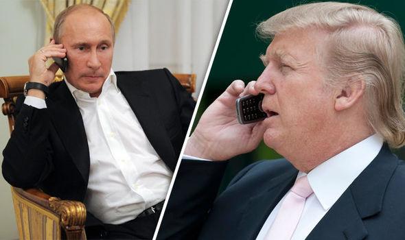 تفاصيل المحادثة الهاتفية بين بوتين وترامب
