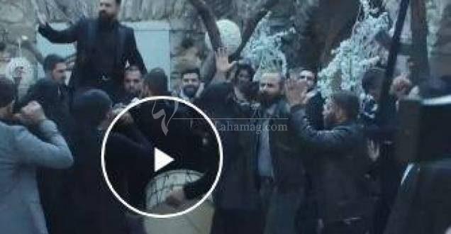 """صور لم تنشر بعد.. شاهدوا زفاف تيم حسن في """"الهيبة""""!"""