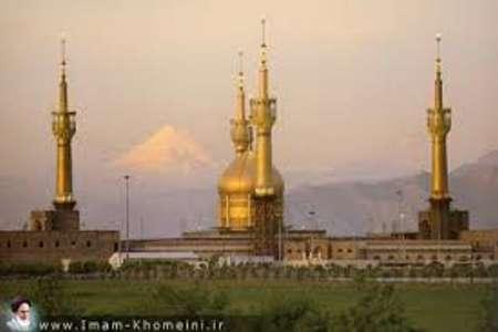 إرهابي یفجر نفسه في مرقد الإمام الخمیني