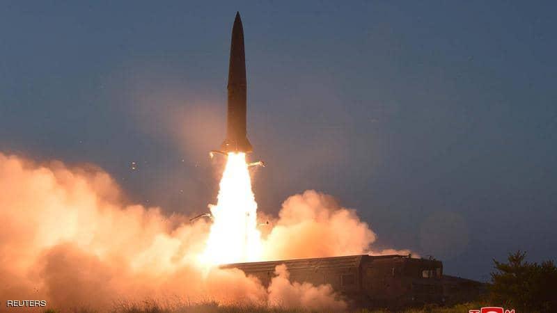 إطلاق صاروخين بالستيين جديدين من كوريا الشمالية