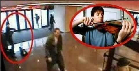 بالفيديو .. عندما يعزف أهم عازف في محطة مترو ولا يلاحظه أحد