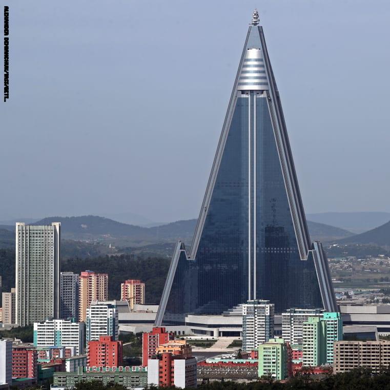 """متى تفتتح كوريا الشمالية فندق """"الموت""""؟"""