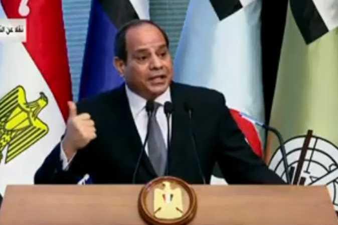 السيسي يقول إنه سيلتقي مع رئيس وزراء إثيوبيا