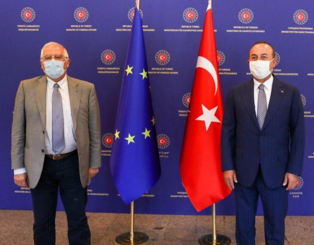 تركيا تتوعد الاتحاد الأوروبي بالرد إذا اتخذ ضدها إجراءات جديدة