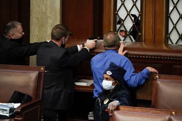 أعمال شغب في الكونغرس