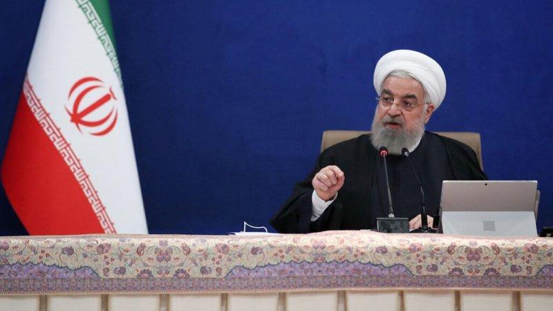 روحاني: إسرائيل عدو الشرق الأوسط