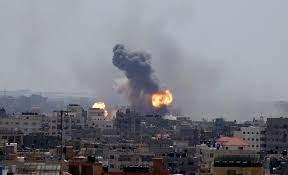 غارات جوية إسرائيلية على غزة ردّاً على إطلاق صاروخ من القطاع