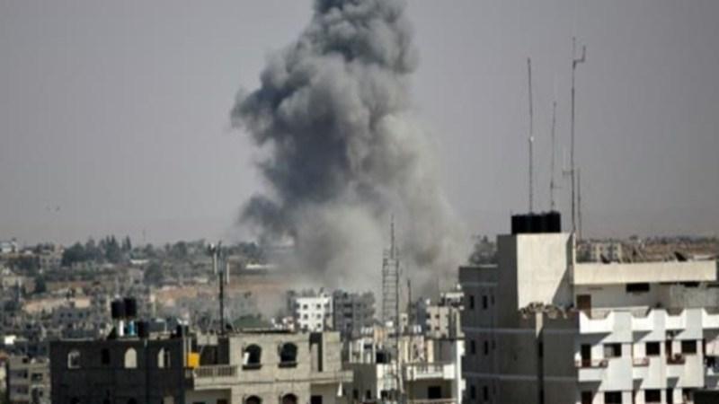 قصف عنيف على غزة