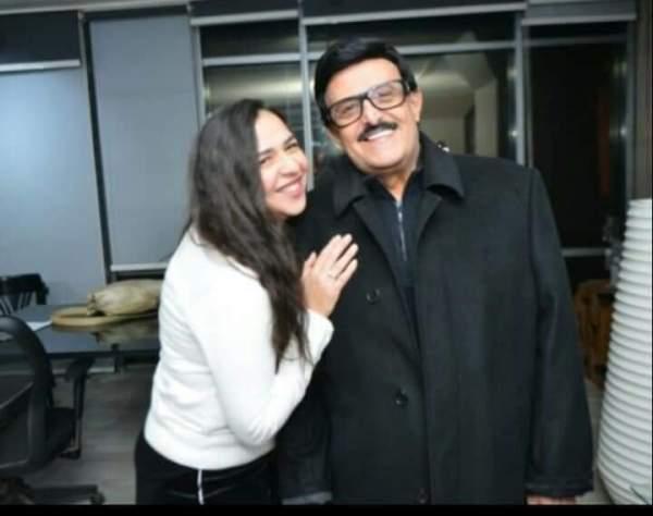 سمير غانم وابنته