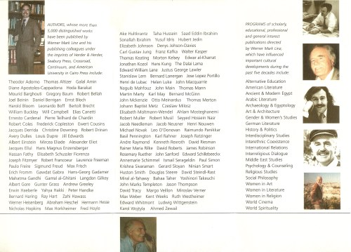 The program, side 2.